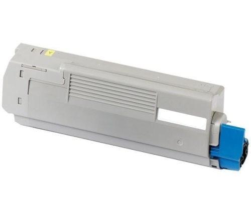 Toner Compativel Oki C5850/C5950 Amarelo (43865721)